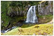 Водопад на ручье Спокойный