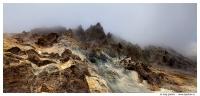 Кратер вулкана Мутновский