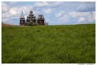 Карелия. Музей музей деревянного зодчества «Кижи».