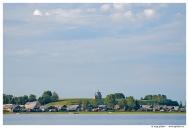 Озеро Кенозеро. Деревня Вершинино. Никольская часовня.