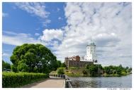 lenareaviborg_2007_02Выборг. Выборгский замок. Вид с набережной 40-летия комсомола.