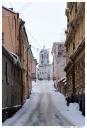 Выборг. Выборгский замок.  Вид с набережной 40-летия комсомола.
