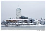 Выборг. Выборгский замок. Вид с Петровской набережной.