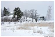 Выборг. Парк Монрепо. Остров Людвигштайн с капеллой Людвигсбург.