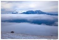 Крым. Южный Демерджи. Вид на гору Чатырдаг.