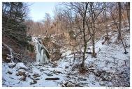 Крым. Водопад Джур-Джур в январе.