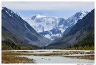 Аккемское озеро. Гора Белуха.