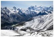 Гора Белуха и Аккемское озеро.