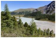 Аккемское озеро и верховья реки Ак-Кем.