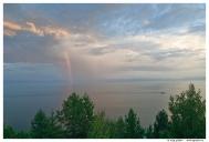 Озеро Байкал вечером