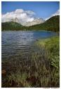 Западный Саян. Ергаки. Озеро Светлое. Вид на пики Звездный и Птица.