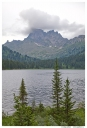 Западный Саян. Ергаки. Озеро Светлое. Вид на пик Звездный.