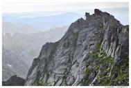 Западный Саян. Ергаки. Вид с перевала Птица.