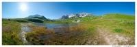 Озеро Псенодах на фоне Пшехо-Су