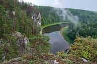 Средний Урал. Река Чусовая.